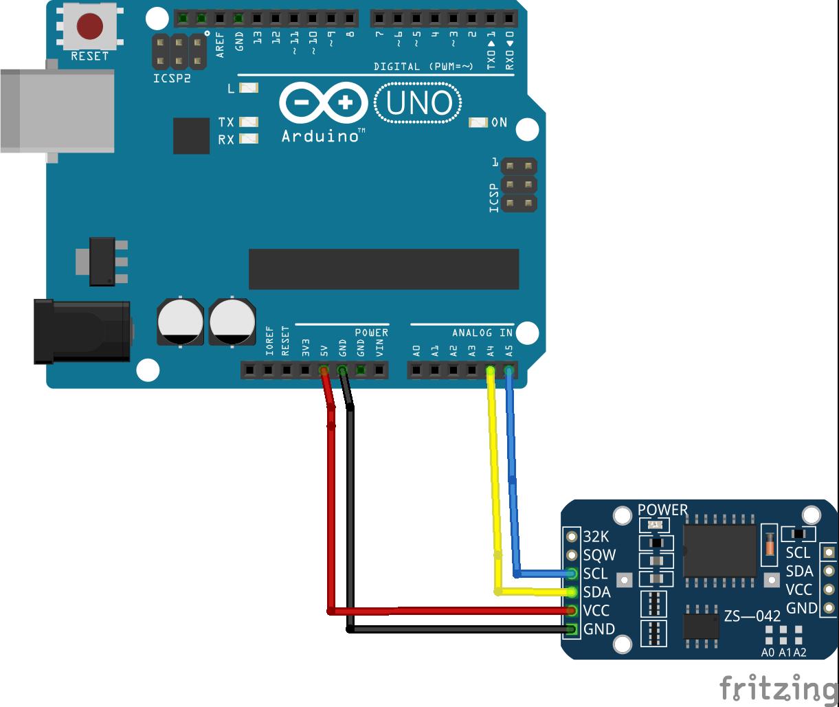 Arduino+DS3231