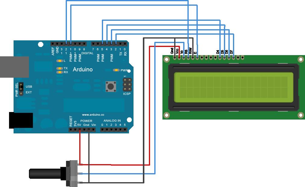LCD+arduino